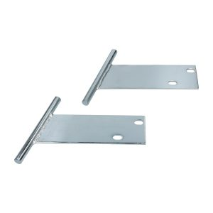T-Bars, chrome - Exterior - Bumpers and accessories - Chromed T-Bars & Tube Nerve Bars  - Generic