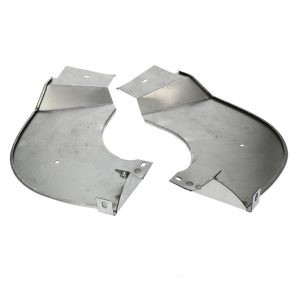 Bumper splashpans - pair - Exterior - Bumpers and accessories - Bumperbolts and protection  - Generic