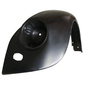 Front fender, leftWith indicator hole, without bumperbracket hole and with hole for horn grill - Exterior - Wings and runningboards - Steel fenders for Beetles  - Generic