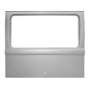 Tailgate Deluxe - TQ - Exterior - Body parts - Hoods and hatches  - Silver Weld Through