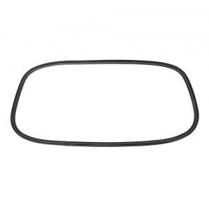 Rear window seal 'Deluxe' - Exterior - Body part rubbers - Rubbers Karmann Ghia (XView 1-16)  - Generic