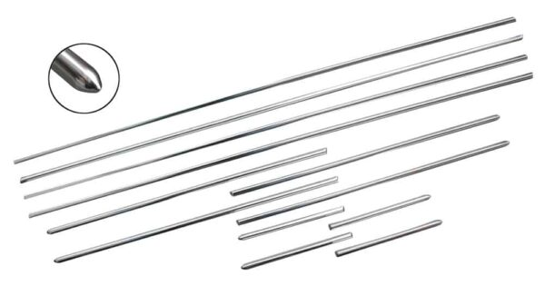 Chrome moldingkit (12pcs) - Exterior - Accessories - Chrome moulding kits and mounting pieces  - Generic