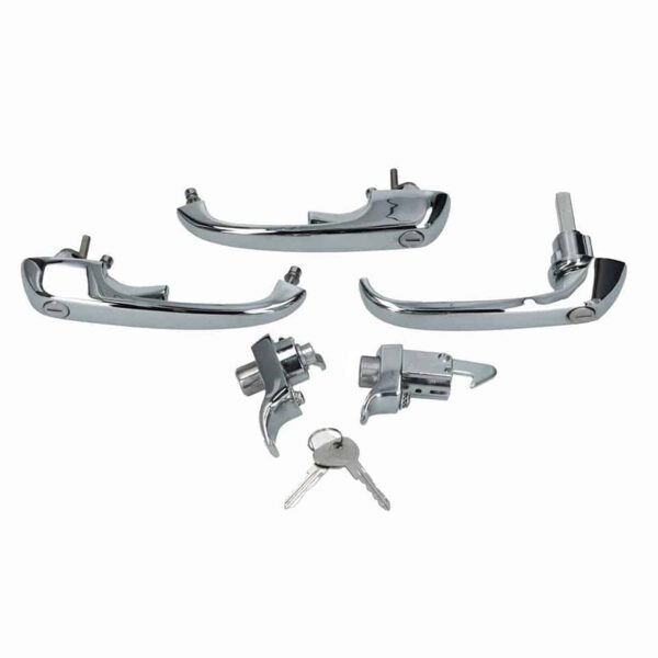 Lock set - Exterior - Mirrors and latches - Latches and locks  - Generic