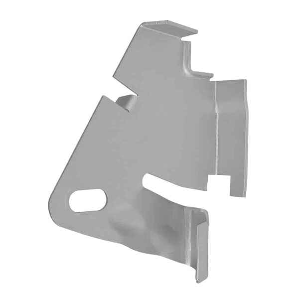 Engine lid support plate - Exterior - Mirrors and latches - Latches and locks  - Silver Weld Through