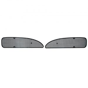 Insectscreen behind air vent grill front (pair) - Exterior - Accessories - Chrome grills  - Generic