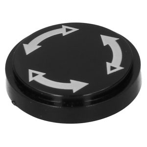 Centercap fresh air knob - Electrical section - Switches and apparatuses - ventilation  - Generic