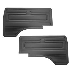Front door panels, black, as pair - Interior - Door finish and emergency brake - Door and quarter panels  - Generic