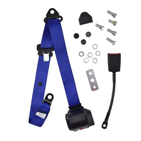 Universal seat belt - blue, eache-marked - Interior - Seats and accessories - Seat belts  - Generic