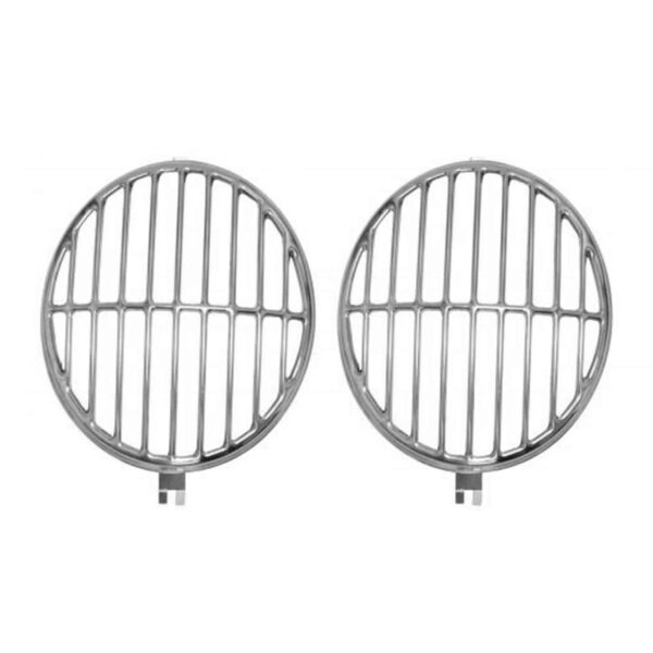 Headlight grills, Speedster Design, as pair - Electrical section - Headlights and accessories - Headlight grills  - Generic