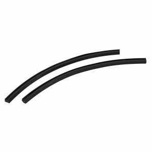 Seal for hinge popout window (pair) - Exterior - Body part rubbers - Door and window seals Karmann Ghia (XView 1-15)  - Generic