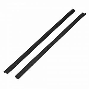Seal for hinge pop-out window (pair) - Exterior - Body part rubbers - Door and window seals Karmann Ghia (XView 1-15)  - Generic