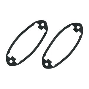 Licenseplate lens seal (pair) - Exterior - Body part rubbers - Rubbers Karmann Ghia (XView 1-16)  - Generic