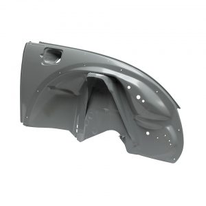 Right front inner wing, complete - Exterior - Body parts - Bodywork Beetle (XView 1-03)  - Generic