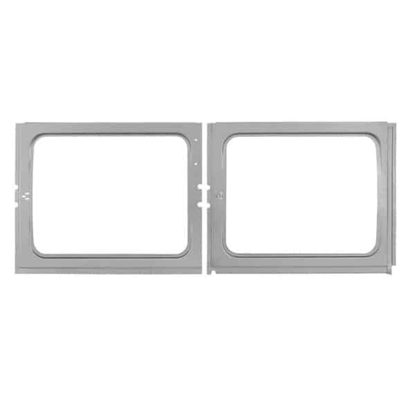 Sidewindow inner panel / complete for 2 windows Left - Exterior - Body parts - Bodywork Bus, -67 Bodyparts (XView 1-05)  - Silver Weld Through