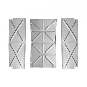 Belly pans - set of 3pcs - Top Quality - Exterior - Body parts - Bodywork Bus, -67 Bodyparts (XView 1-05)  - VW Sunroofs