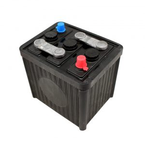 Battery 6V, 84 Ah, without acid (L 224 x B 173 x H 220) - Electrical section - Switches and apparatuses - Batteries  - Provided by BBT