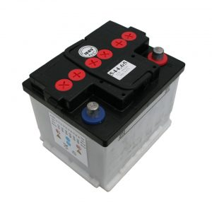 12V, 44 Ah, without acid - Electrical section - Switches and apparatuses - Batteries  - Generic