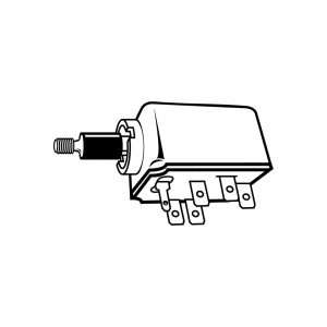 Light switch - Electrical section - Switches and apparatuses - Dashboard switches  - Generic