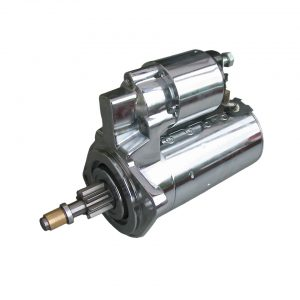 Starter 12V/ 1.4 KW (chrome) - Electrical section - Switches and apparatuses - Starter motor and parts  - Generic