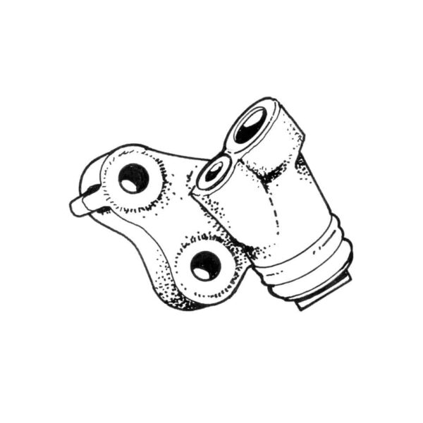 Wheel cylinder, front, right - Under-carriage - Brakes - Wheel brake cylindersSold each  - Generic