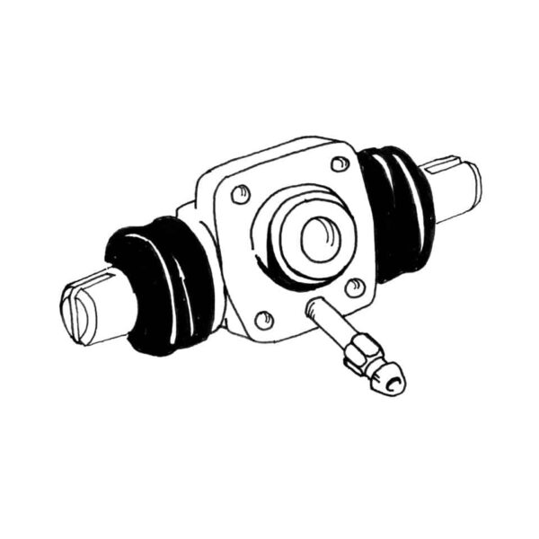 Wheel cylinders rearATE, 4 hole, 19mm - Under-carriage - Brakes - Wheel brake cylindersSold each  - ATE