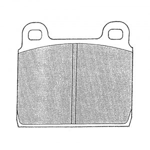 Brake pads - Under-carriage - Brakes - Brake pads  - TRW