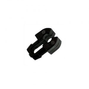 Clip for brake line on chassis, each - Under-carriage - Brakes - Metal brake lines  - Generic