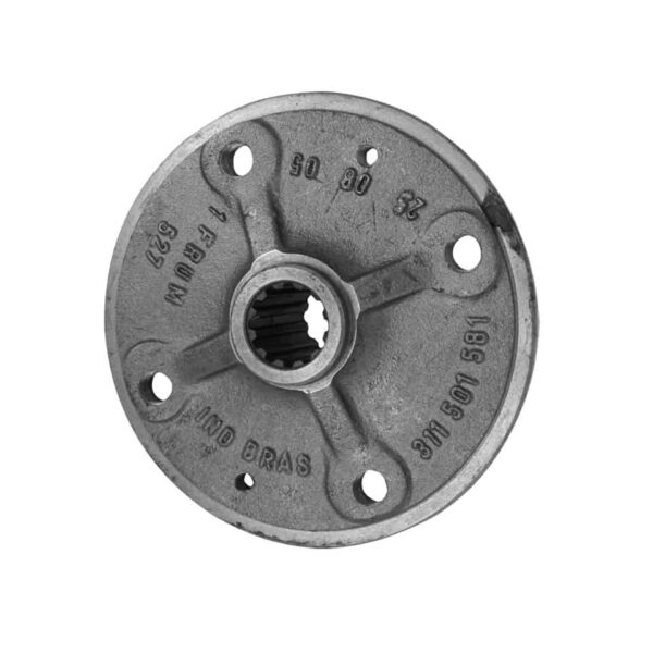 Hub for rear brake drum - Under-carriage - Rear suspension and gearbox - IRS parts  - Generic