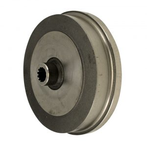 Brake drum, rearwithout lugs - Under-carriage - Brakes - Modified brake discs and drums  - BBT Production|OMC