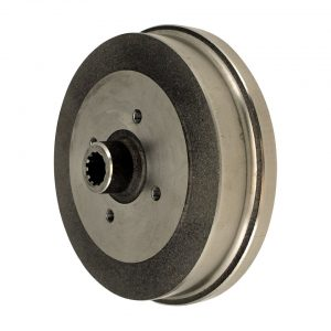 Brake drum, rear4 lug (4x100) Golf - Under-carriage - Brakes - Modified brake discs and drums  - BBT Production