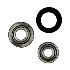 Wheel bearings, front, by wheel - Under-carriage - Front suspension - Spindles and parts  Beetle,  Karmann Ghia -07/65 (XView 4-09)  - Generic