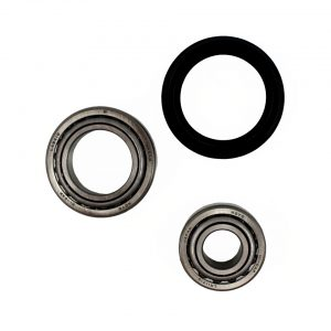 Bearings drum, front, by wheel - Under-carriage - Front suspension - Spindles and parts  Beetle,  Karmann Ghia 08/65- (XView 4-10)  - Generic
