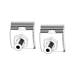 front end adjuster kit, up to 15cm lower, à souder, as pair - Under-carriage - Front suspension - Front axle  Bus 08/67- (XView 4-13)  - Generic