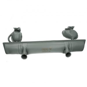 Exhaust 1200cc (with Tüv) - Engine - Exhaust and accessories - Stock style exhausts  Beetle and Karmann Ghia  - Generic