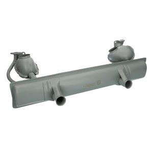 Exhaust 1300cc (with Tüv) - Engine - Exhaust and accessories - Stock style exhausts  Beetle and Karmann Ghia  - Generic