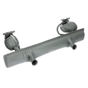 Exhaust with double preheating (with Tüv) - Engine - Exhaust and accessories - Stock style exhausts  Beetle and Karmann Ghia  - Generic