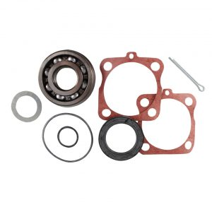 Rear bearing kitFor rear suspension with swing axle. Kit contains all for one wheel. - Under-carriage - Rear suspension and gearbox - Rear bearings  - Generic