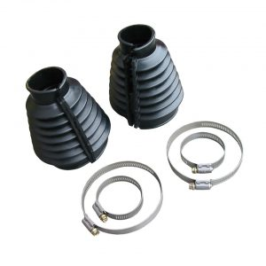 Axle boot kit, blackas pair - Under-carriage - Rear suspension and gearbox - Swing axle gaitor  - Bugpack