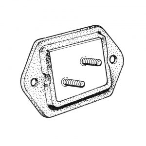 Nose cone mount - Under-carriage - Rear suspension and gearbox - 'Rhino' transmission mounts  - Generic
