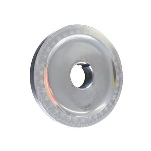 Pulley with degree, black, without holes - Engine - Lower block - Original crankshafts and parts (XView 5-01)  - Generic