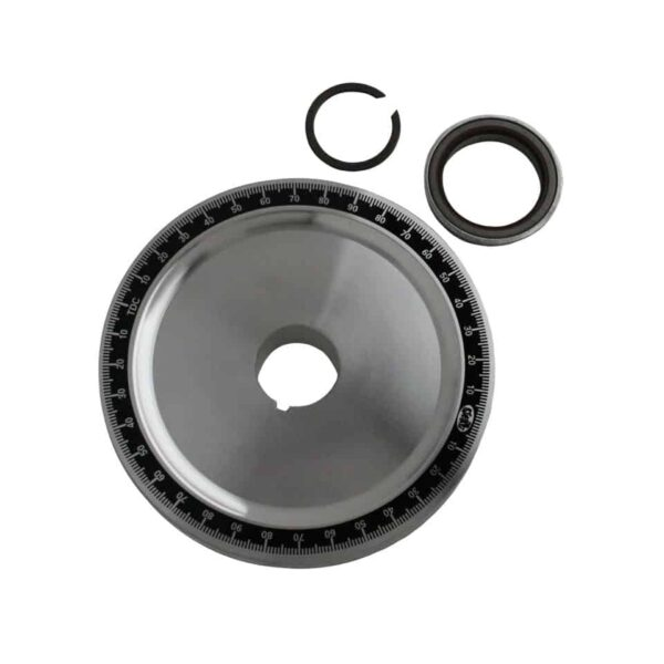 Sandseal standaard pulley, standard, with seal - Engine - Lower block - Original crankshafts and parts (XView 5-01)  - Generic
