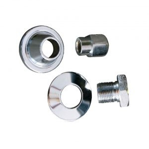 Chrome bolt and screw for pulleys, with washers - Engine - Lower block - Original crankshafts and parts (XView 5-01)  - Generic