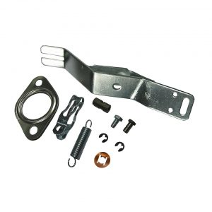 Mounting kit for Heat exchanger, right - Engine - Exhaust and accessories - Heat exchangers Beetle/  Bus/  Karmann Ghia  - Generic