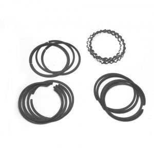 77 mm, 2.5 x 2.5 x 4 mm - Engine - Lower block - Piston rings  - Generic