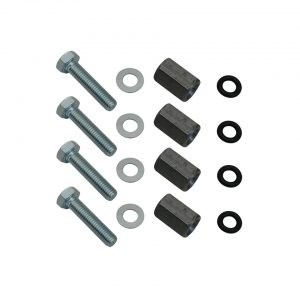 Mounting kit to replace valve cover with screws - Engine - Lower block - Cilinder heads (XView 5-04)  - Generic