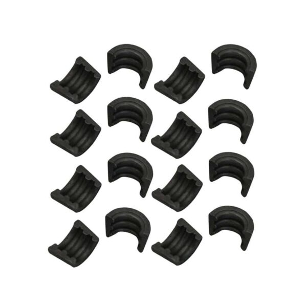 Retainer clipsset of 8 pairs - Engine - Lower block - Cilinder heads (XView 5-04)  - Generic