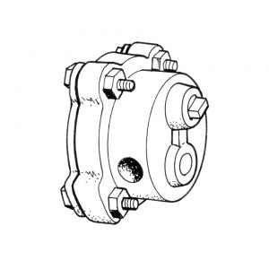 Oil pump high flow, cast iron, Empi - Engine - Oil circuit - Oil pump / higher capacity  - Generic