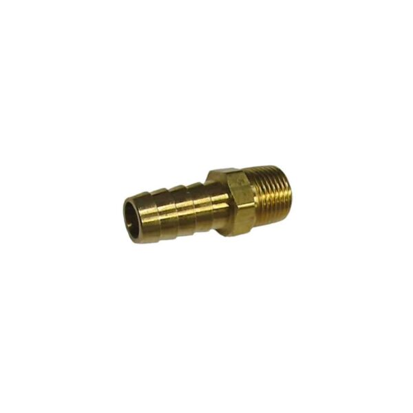 Brass barbed hose fitting - Engine - Oil circuit - Copper oil cooler fittings  - Bugpack