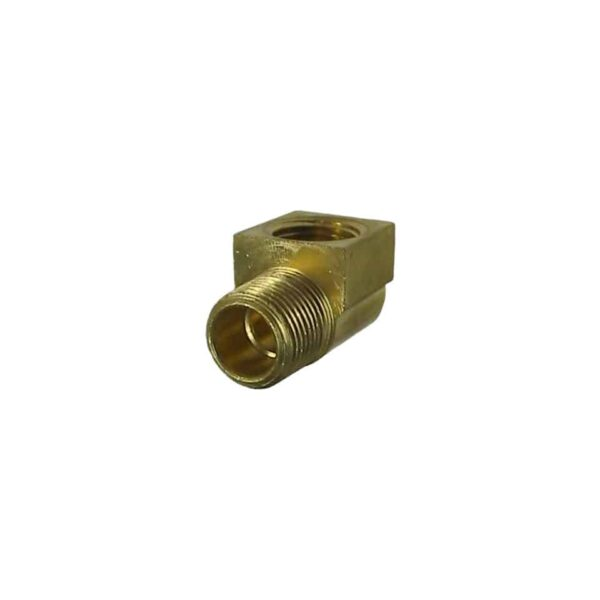 Brass 90° 3/8' - Engine - Oil circuit - Copper oil cooler fittings  - Generic
