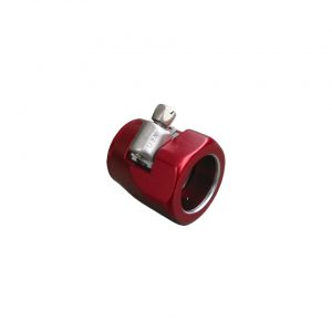 Red clamp, oil line - Engine - Oil circuit - Oil pipes  - Bugpack